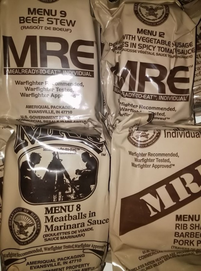 US MRE FLAMELESS RATION HEATER CAMPING//HIKING//FISHING//SURVIVAL