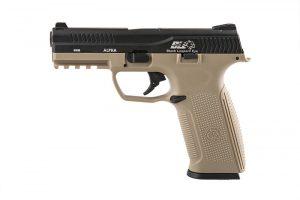 ICS BLE black tan pistol